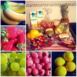 Our fruit haul