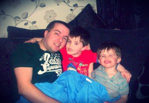 The three men in my life...